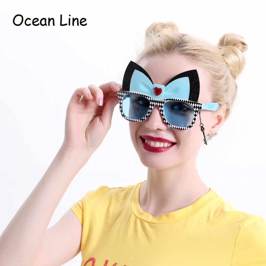 Алиса в стране чудес Чеширский костюм кошки очки Косплей вечерние сувениры нарядное платье фото стенд Набор для вечеринки украшения