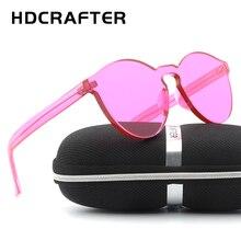 Fashion Sunglasses Women New Brand Designer Gradient Rimless Sunglasses Men Frog Mirror Sun Glasses 15 Color Oculos De Sol