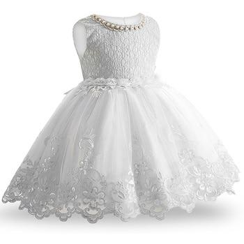 2019 New Lace Baby Girl Dress 9M-24M 1 Years Baby Girls Birthday Dresses Vestido birthday party princess dress 1