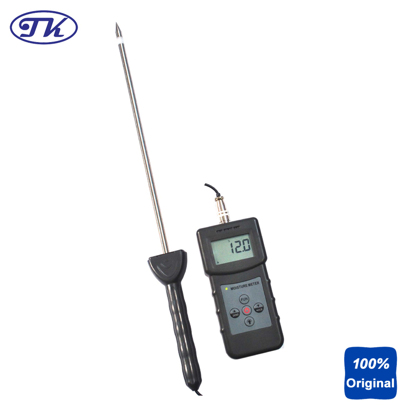 Portable Soil Moisture Meter Moisture Testing PMS710 mc7812 induction tobacco moisture meter cotton paper building soil fibre materials moisture meter