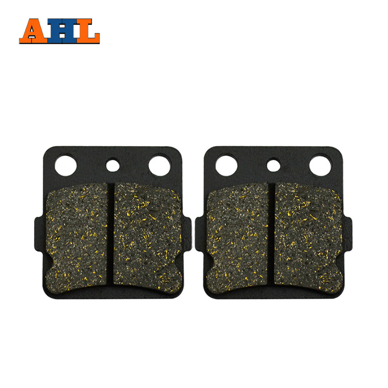AHL Motorcycle Brake Pads Rear Disks For Kawasaki KFX 450 R (KSF 450 B) KFX450R KFX450 R KSF450 2008-2014