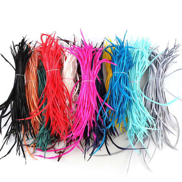20pcs/Lot 12Colors Single Color thin soft Turkey Marabou Feathers women necklace Earrings tassels DIY Jewelry Accessories Charm
