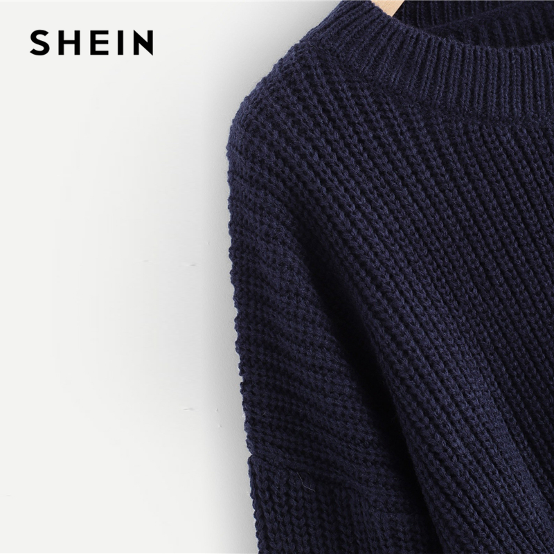 a55c917521 ... Beaded Solid Lantern Sleeve Round Neck Pullovers Casual Jumper 2018  Autumn Campus Women Sweater. 40% OFF. Previous