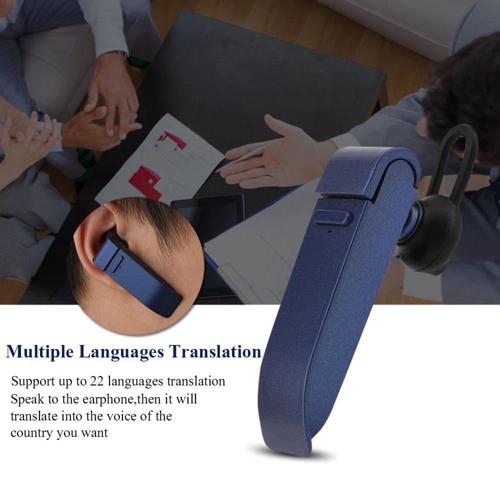 VBESTLIFE Multi-Язык мгновенный переводчик голос в реальном времени перевести с bluetooth наушники traductor для Бизнес обучения