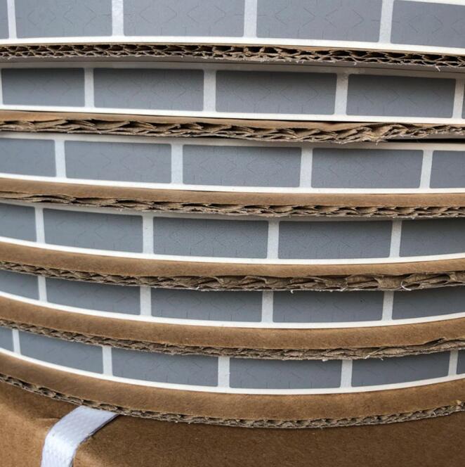 Wholesale19000PCS/roll 10x30mm zilver SCRATCH OFF STICKER adhesive DIY handleiding hand gemaakt bekrast streep kaart film-in Stickers voor briefpapier van Kantoor & schoolbenodigdheden op  Groep 3