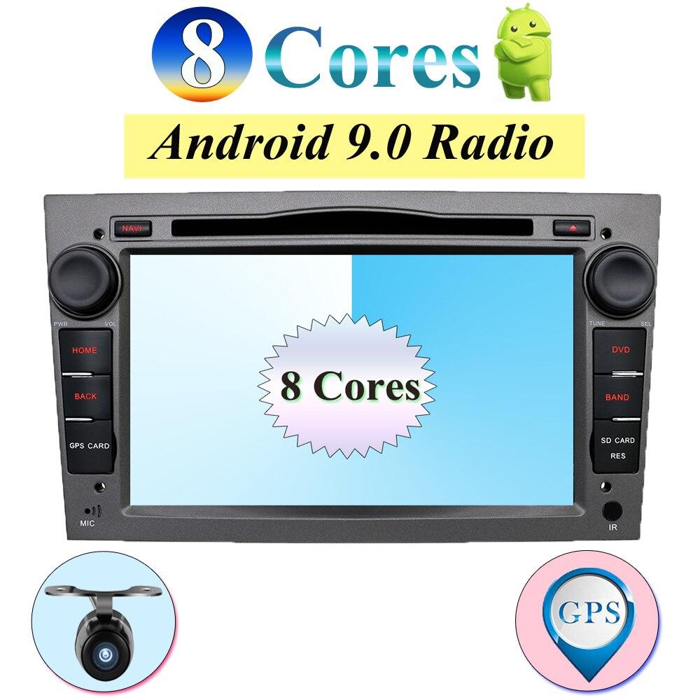 Lecteur multimédia DVD de voiture Radio 2 Din adapté pour Opel Vectra Corsa D Astra H volant Audio Android 8.1 vidéo RDS carte CAM DAB