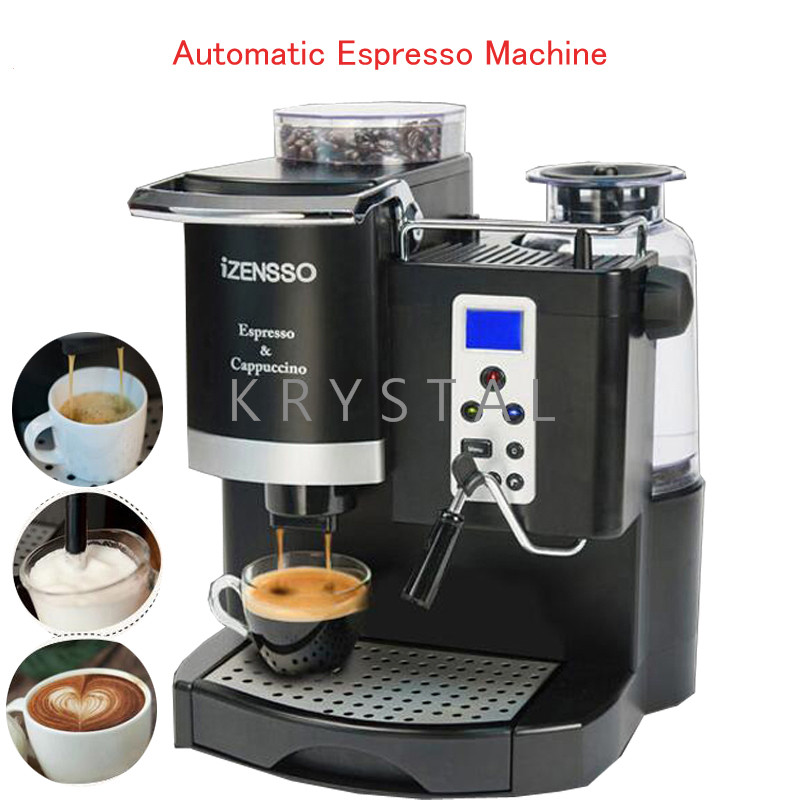 Automatic Espresso Machine in English Version Coffee Maker with Grind Bean and Froth Milk for Home or Coffee Shop SN-8650 polyphenols in green coffee bean and chocolate