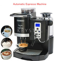 Automatic Espresso Machine in English Version Coffee Maker with Grind Bean and Froth Milk for Home or Coffee Shop SN 8650