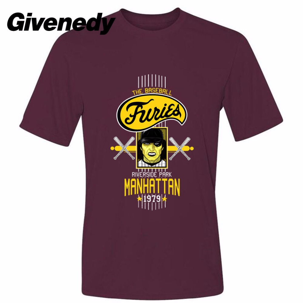 The Baseball Furies Riverside Manhattan Mens Womens Personalized T