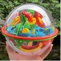 Магия Интеллект 3D Пазлы Для Детей Мяч Лабиринт IQ Тизер Игры Juguetes Educativos Образовательные Дети Детей Игрушки