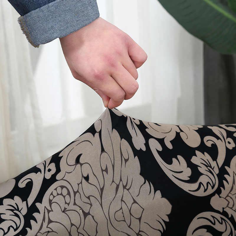 ソファカバーのためのストレッチリビングルーム断面現代ソファカバー 2 個必要洗えるホーム/ホテル l 字型ソファカバー copridivano