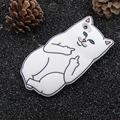 Silicon Phone cases Pocket Cat Silicone Rubber Cell Phone Cases Covers For Apple 5 5s SE 6 6S 6Plus 6SPlus 7 7plus