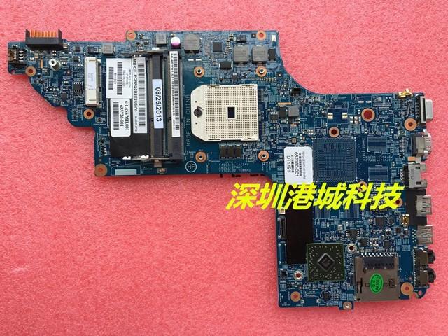 Envío libre placa madre del ordenador portátil para hp pavilion dv6 dv6-7000 series 682180-001 placa madre el 100% prueba aceptar