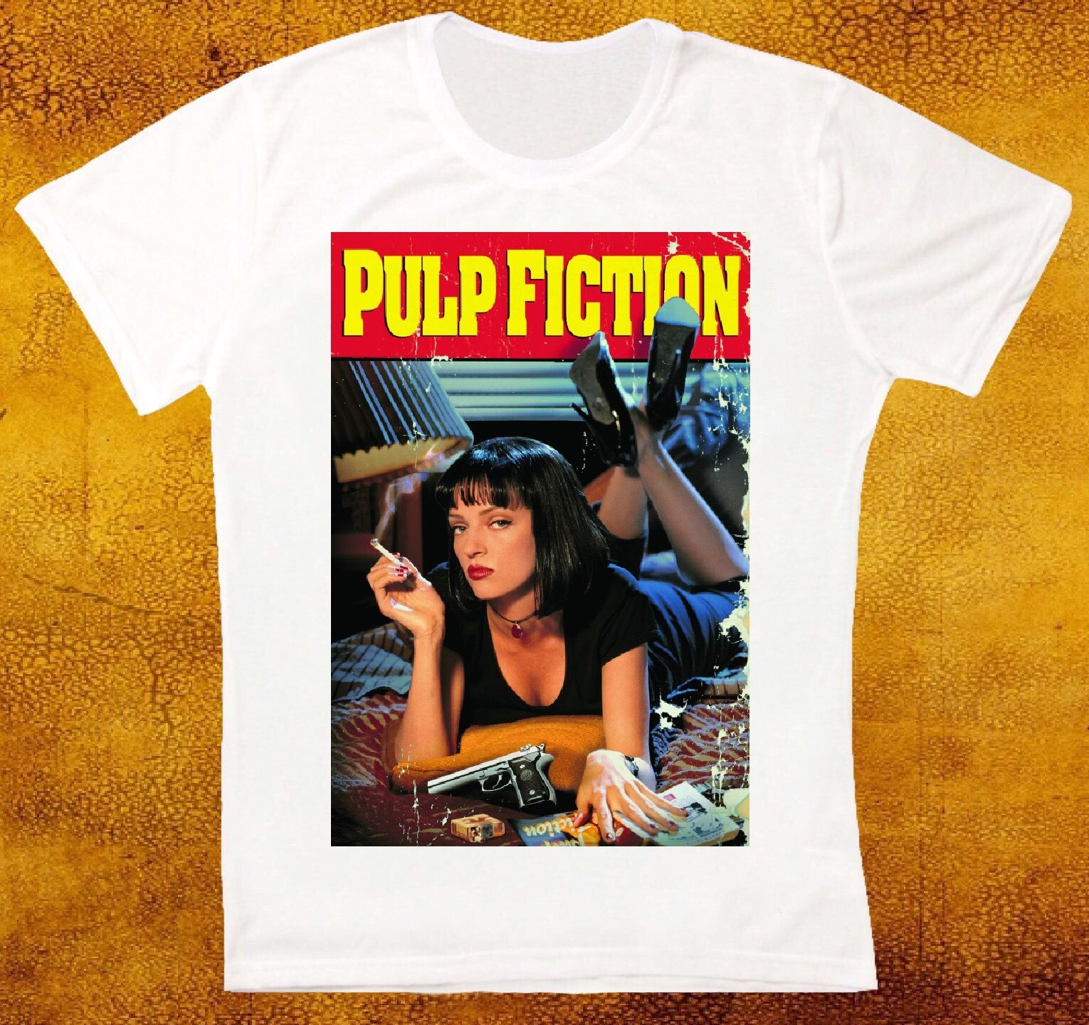 pulp-fiction-movie-font-b-tarantino-b-font-car-race-retro-vintage-hipster-2018-summer-t-shirt