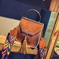 Famosa marca Personalizada grandes bolsos de mini Cubo de la Marca original diseño crossbody bolsas para mujeres bolsas de mensajero de Las Borlas