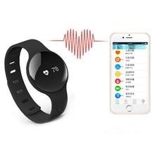 Bluetooth Smart Uhr mit Schrittzähler Kalorien Zähler Pulsmesser Smartwatch Band Armband für iPhone Xiaomi Smartphone