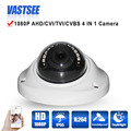 1080P AHD/TVI/CVI/CVBS CCTV 4 in 1 Cameras sony imx323 sensor HD 2MP Lens Vandalproof & WeatherIR Dome room indoor security CCTV