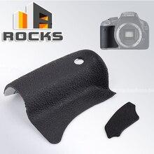 Pieza de repuesto para reparación de cámaras digitales Canon EOS 550D, parte frontal y trasera de goma
