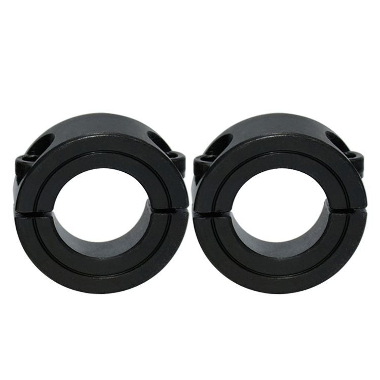 Carbon Steel Shaft Collar INCH  Slit/Split  Type One-Piece Two-Piece Set Screw1/4 3/8 1/2 5/8 3/4 7/8 1