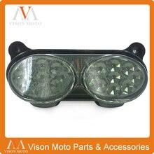 Мотоцикл задние тормоза света сигнала Интегрированного LED свет лампы для Kawasaki ZX9R ниндзя ZX6R ZX600 ZX9-R ZX900 ZR7 ZR7S ZZR600