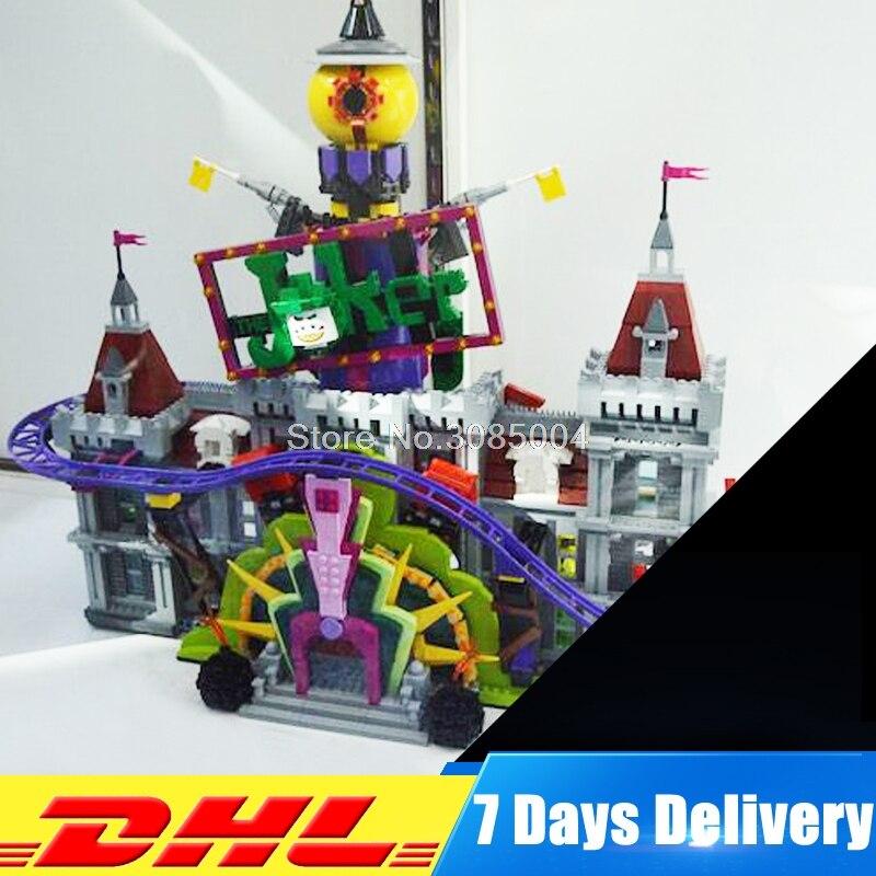 Lepin 07090 The Joker`s Manor Set 3857Pcs Super Hero Series 70922 Building Blocks Bricks Christmas Children Boy's Gift DIY Toys johanna s christmas