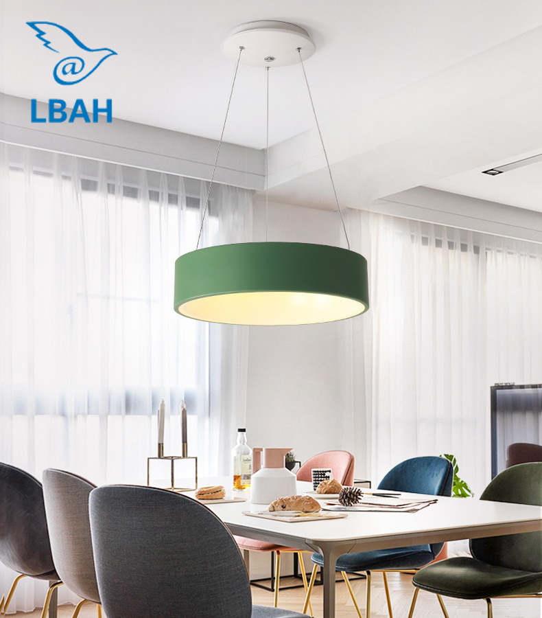 Modern creative bedroom lamp simple art living room led chandelier Nordic ring dining room lamModern creative bedroom lamp simple art living room led chandelier Nordic ring dining room lam