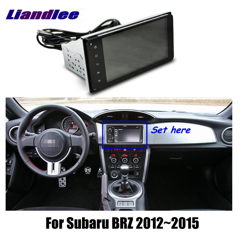 Car Android Multimedia System GPS Navigation For Subaru BRZ 2012 2013 2014 2015 Car Radio Player HD Touch Screen TV Audio Video