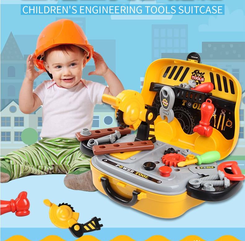 Haute qualité semblant jouer outil jouets pour garçons jouets d'intérieur cadeau