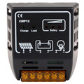 Black Solar Charger Controller Compatible with Solar Panel
