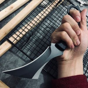 Image 2 - Karambit 전술 칼 야외 사냥 칼 생존 고정 블레이드 나이프 클로 Machete 정글 전투 나이프 캠핑 EDC 손 도구