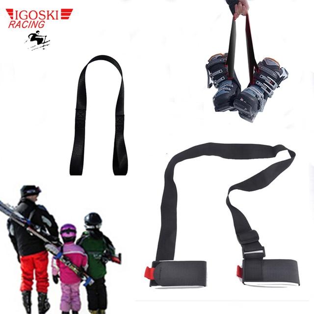 IGOSKI Ski snowboard black handbags cross country skiing pole bag Mountain skiing snow board protection and boot strap carrier