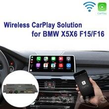 Joyeauto WI-FI Беспроводной Apple Carplay модернизации X5 X6 F25 F26 НБТ 2013-2016 для BMW для камеры заднего вида Waze Spotify