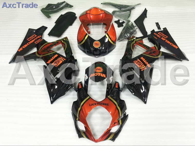 Motorcycle Fairings For Suzuki GSXR GSX-R 1000 GSXR1000 GSX-R1000 2007 2008 07 08 K7 ABS Plastic Injection Fairing Kit Red Black new motorcycle ram air intake tube duct for suzuki gsxr600 gsxr750 2006 2007 k6 abs plastic black