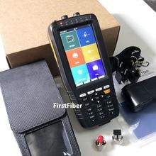 4 дюйма Экран OTDR Оптический измеритель коэффициента отражения методом временных интервалов 1310 и 1550nm встроенный VFL OPM операции красный светильник с FC SC ST инструменты для наращивания волос