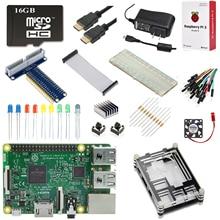 Raspberry Pi 3 Modèle B Ultime Starter Kit + D'origine 16 GB MicroSD Carte + 5 V 3A Micro USB Alimentation