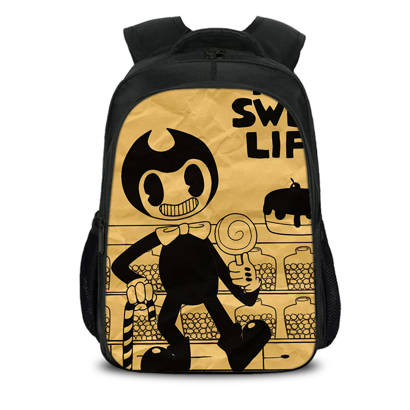 meninos meninas dos desenhos animados crianças mochilas