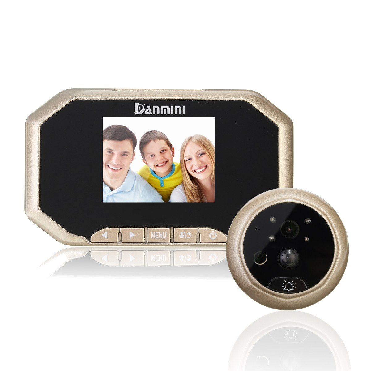 NEW Safurance 3 LCD Visual Monitor Door Peephole Peep Hole Wireless 160 degree Viewer Camera Video Door Intercom Access Control italian visual phrase book
