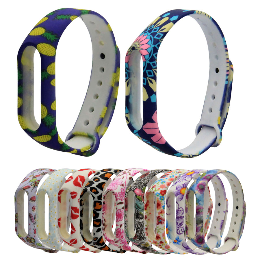 Colorful Strap For Mi Band 2 Wristband Miband 2 Strap Bracelet Strap Replacement Smart Band Accessories For Xiaomi Miband 2