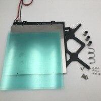 Reprap Prusa i3 mk3 3d принтер кровать с подогревом полный комплект печатных плат магниты кровать, Y каретки, стальной лист, пей лист комплект