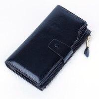 Limited Edition Genuine Leather Women Wallets Hasp Female Clutch Card Holder Long Lady Clutch Carteira Feminina Brabd Coin Purse