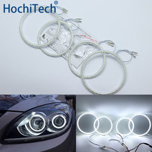 Ultra Bright Smd Witte Led Angel Eyes Halo Ring Kit Dagrijverlichting Drl Voor Hyundai I30 2008 2009 2010 2011(China)