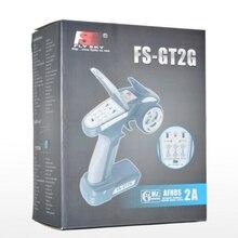 FS-GT2G FS GT2G последним Flysky 2CH 2.4 г RC контроллер передатчик с приемником для Жестокие автомобилей