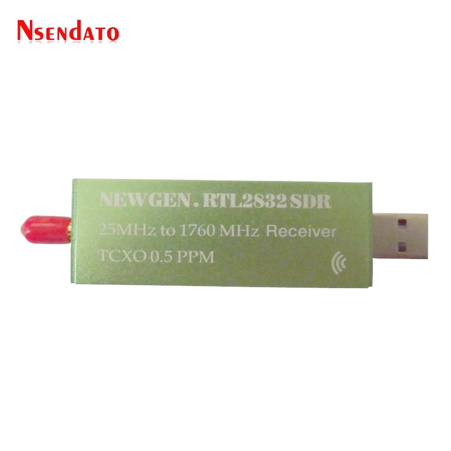 cheapest USB 2 0 RTL SDR 0 5 PPM TCXO RTL2832U R820T2 25MHZ To 1760MHZ TV Tuner Receiver AM FM NFM DSB LSB SW Radio SDR TV Receiver Stick