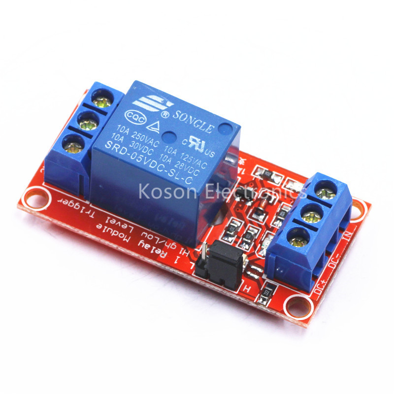 1-Channel 5V Relay Module With Optocoupler H//L Level for Arduino