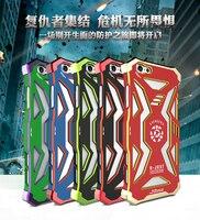 R-TYLKO RJ-03 superhero Avengers serii stopu aluminium Przypadku Telefonu Dla iphone 6 6 s 4.7 inch pancerz zewnątrz pokrywa 6 plus 6 plus