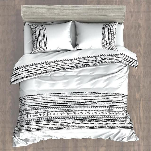 Black and White Bohemian bedding sets boho style Nordic Brief