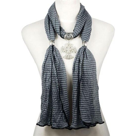 Collier en métal pendentif feuille hibou longue chaîne femmes accessoi Xv