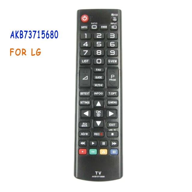 새로운 akb73715680 리모컨 교체 lg lcd led 3d 스마트 tv 50lb5610 50pb560b 55lb5610 60lb5610 controle remoto