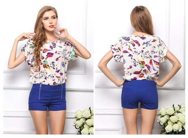 Aliexpress.com : Buy Women blouses fashion 2015 summer style ...
