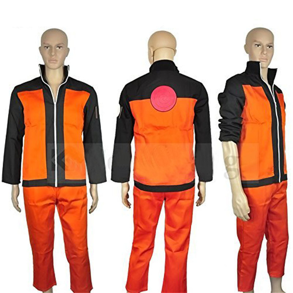 Adult men Halloween costumes Uzumaki Naruto cosplay NARUTO costume for men anime clothes jacket suits tops/trousers full set